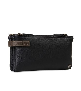 ERMENEGILDO ZEGNA: Clutch Steel grey - 45208717BF
