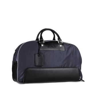 ZEGNA SPORT: Travel bag Black - Blue - 45208934VC