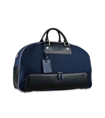 ZEGNA SPORT: Travel bag Maroon - Blue - Steel grey - 45208934sl