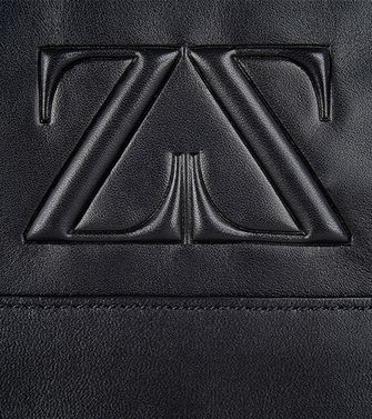 ZEGNA SPORT: Shoulder bag Black - 45208953EO
