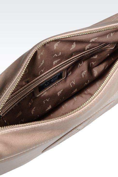 VINTAGE STYLE ECO LEATHER SHOULDER BAG: Shoulder bags Women by Armani - 3