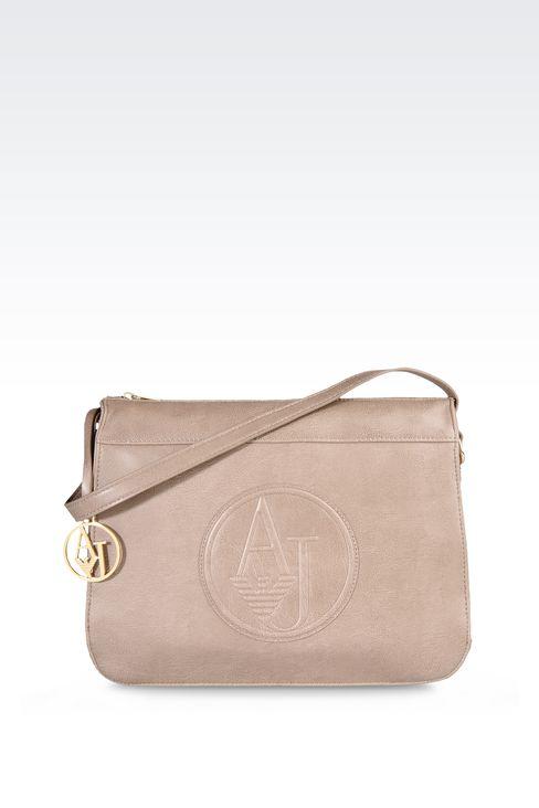 VINTAGE STYLE ECO LEATHER SHOULDER BAG: Shoulder bags Women by Armani - 1