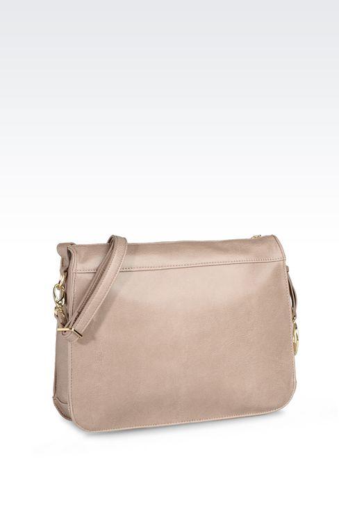 VINTAGE STYLE ECO LEATHER SHOULDER BAG: Shoulder bags Women by Armani - 2