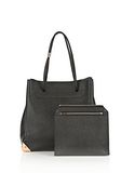ALEXANDER WANG PRISMA LARGE TOTE IN PEBBLED BLACK WITH ROSE GOLD TOTE Adult 8_n_d