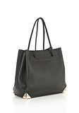 ALEXANDER WANG PRISMA LARGE TOTE IN PEBBLED BLACK WITH ROSE GOLD TOTE Adult 8_n_e