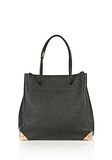 ALEXANDER WANG PRISMA LARGE TOTE IN PEBBLED BLACK WITH ROSE GOLD TOTE Adult 8_n_f