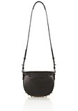 ALEXANDER WANG LIA IN BLACK WITH YELLOW GOLD Shoulder bag Adult 8_n_a