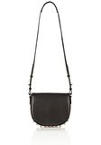 ALEXANDER WANG LIA IN BLACK WITH YELLOW GOLD Shoulder bag Adult 8_n_f