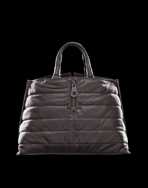 MONCLER Women - Fall-Winter 13/14 - HANDBAGS - Large leather bag - AMELIE
