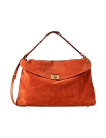 SERGIO ROSSI - Large leather bag