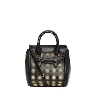 ALEXANDER MCQUEEN, Shoulder Bag, Studded Mini Heroine