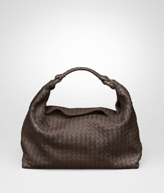 BOTTEGA VENETA Edoardo Light Calf Intrecciato Sloane Bag Shoulder or hobo bag D fp