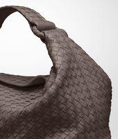 Edoardo Light Calf Intrecciato Sloane Bag