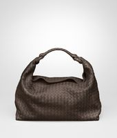 Edoardo Light Calf Intrecciato Sloane Bag