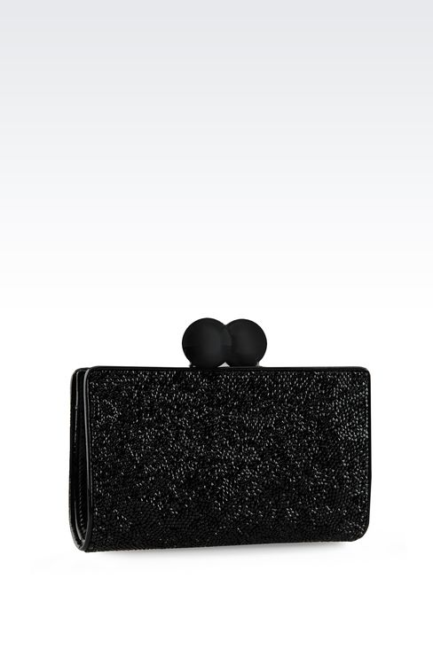 Bags: Clutch bags Women by Armani - 2