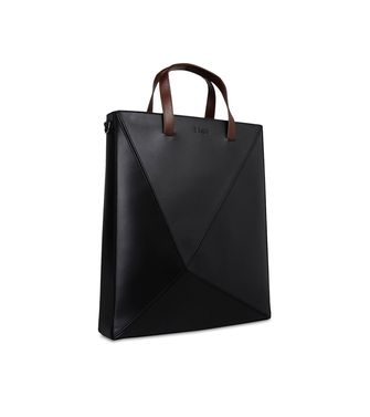 ZZEGNA: Tote Bag Bordeaux - Verde petrolio - 45212192GE
