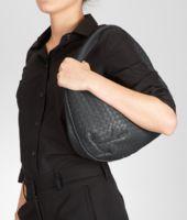 Tasche aus Nappaleder Intrecciato Ardoise