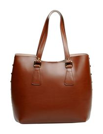 GEORGE J. LOVE - Large leather bag