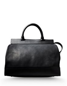 Large leather bag - BONASTRE