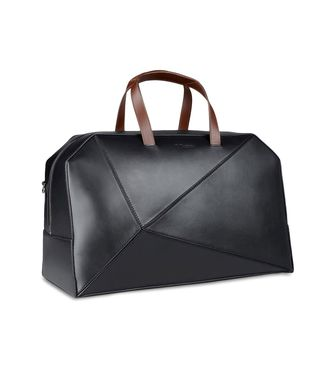 ZZEGNA: Travel bag Black - 45213016UP