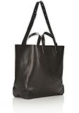 ALEXANDER WANG WALLIE CARRYALL SHINY BLACK WITH RHODIUM Travel Adult 8_n_d