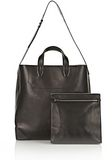 ALEXANDER WANG WALLIE CARRYALL SHINY BLACK WITH RHODIUM Travel Adult 8_n_e