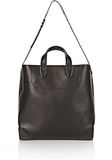 ALEXANDER WANG WALLIE CARRYALL SHINY BLACK WITH RHODIUM Travel Adult 8_n_f