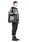 ALEXANDER WANG WALLIE CARRYALL SHINY BLACK WITH RHODIUM Travel Adult 8_n_r