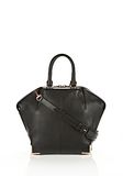 ALEXANDER WANG SMALL EMILE IN SOFT BLACK WITH ROSE GOLD TOTE Adult 8_n_f