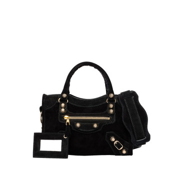Balenciaga Baby Daim Giant Gold Mini City