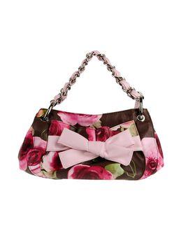 BRACCIALINI - СУМКИ - Средние сумки из текстиля