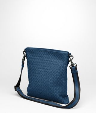 Électrique Intrecciato VN Cross Body Messenger
