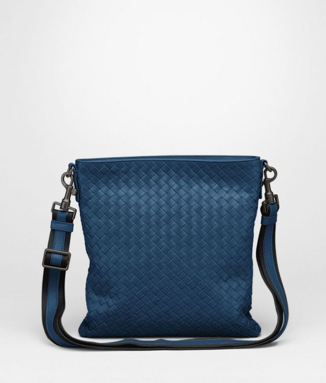 BOTTEGA VENETA Messenger a Tracolla Électrique in VN Intrecciato Borsa Messenger U fp