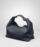Borsa Sloane Prusse in Light Calf Intrecciato