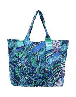 BLUMARINE BEACHWEAR - СУМКИ - Большие сумки из текстиля