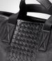 BOTTEGA VENETA BRIEFCASE IN NERO CALF, INTRECCIATO DETAILS Business bag U ep