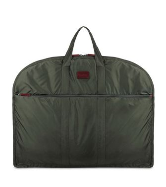 ERMENEGILDO ZEGNA: Garment bag Maroon - Blue - Steel grey - 45218142WQ