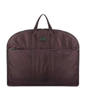 ERMENEGILDO ZEGNA: Garment bag Maroon - Blue - Steel grey - 45218143OA