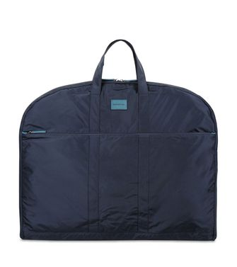 ERMENEGILDO ZEGNA: Garment bag Maroon - Blue - Steel grey - 45218144AO