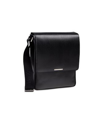 ERMENEGILDO ZEGNA: Shoulder bag Black - 45218268KE