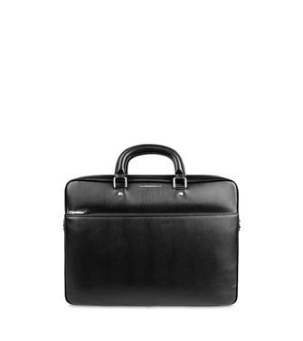 ERMENEGILDO ZEGNA: Office and laptop bag Black - Blue - 45218269NQ