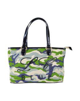 BLUE LES COPAINS - СУМКИ - Средние сумки из текстиля