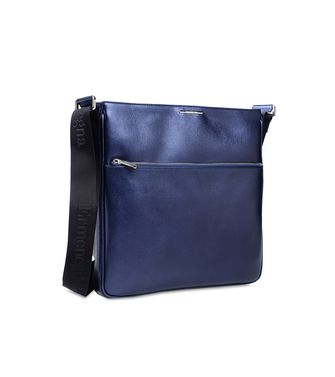 ERMENEGILDO ZEGNA: Travel bag Black - Blue - 45218595GV