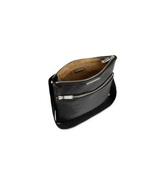 ERMENEGILDO ZEGNA: Shoulder bag Black - 45218599CP