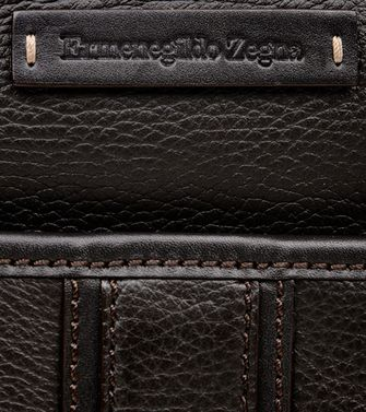 ERMENEGILDO ZEGNA: Shoulder bag Black - 45218605RS