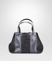 MEDIUM TOTE BAG IN TOURMALINE NAPPA AND AYERS