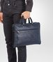 BOTTEGA VENETA BRIEFCASE IN PRUSSE INTRECCIATO CALF Business bag U ap