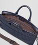 BOTTEGA VENETA BRIEFCASE IN PRUSSE INTRECCIATO CALF Business bag U dp