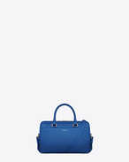 Classic Baby Duffle Bag blu royal in pelle
