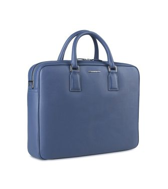 ERMENEGILDO ZEGNA: Office and laptop bag Blue - 45219099GH